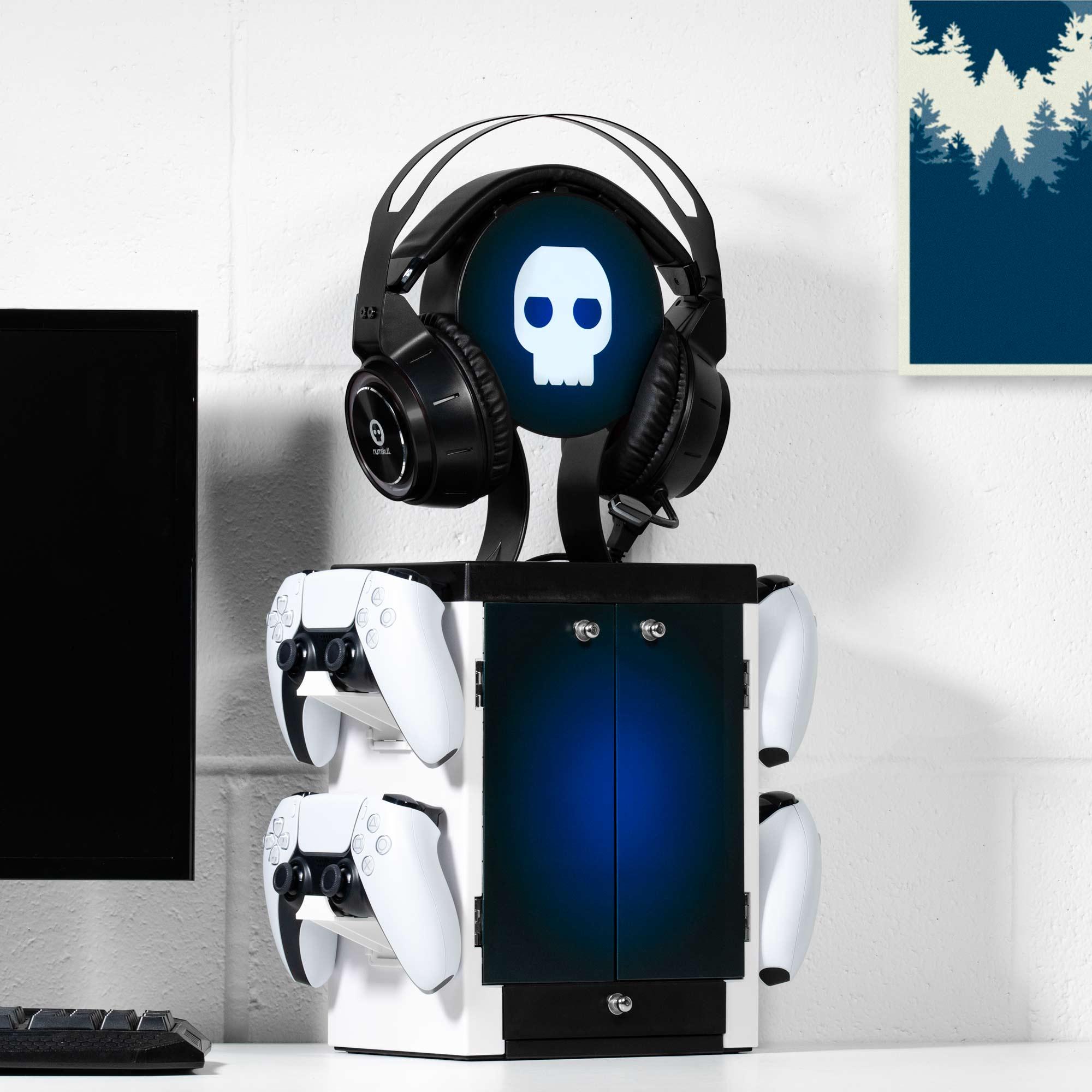 PS5 Inspired Gaming Locker
