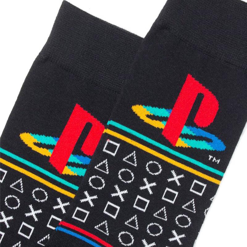 Official PlayStation Retro Pattern Socks