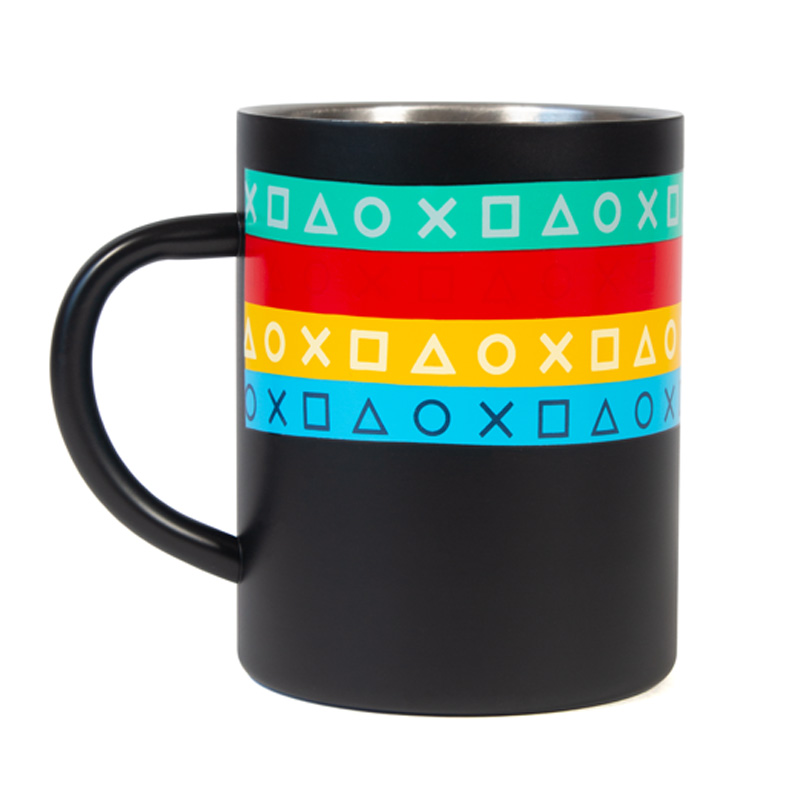 Since '94 Steel Mug inspired by PlayStation Original Logo