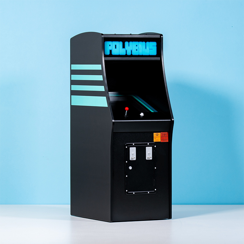 Official Polybius Arcade with Snapback & Pin Badge Bundle