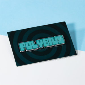 Polybius Premium Enamel Pin Badge