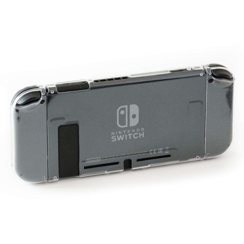 Numskull Nintendo Switch Crystal Clear Hard Cover