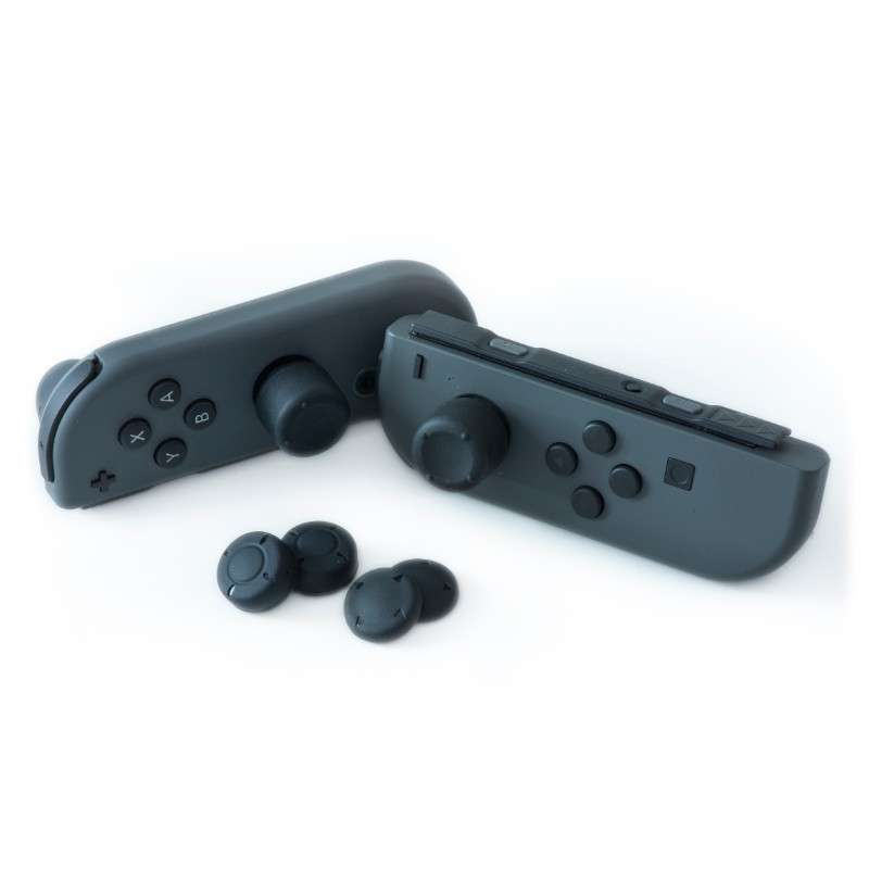 Numskull Nintendo Switch Thumb Grips / Silicone Precision Grips – 6 Pack