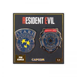 Pin Kings Resident Evil Enamel Pin Badge Set 1.1