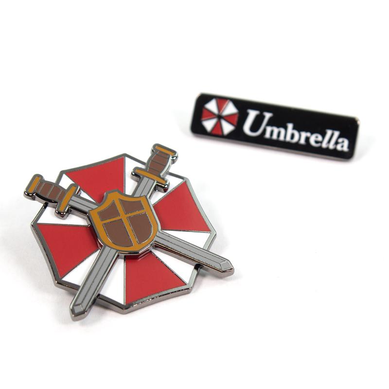 Pin Kings Resident Evil Enamel Pin Badge Set 1.2