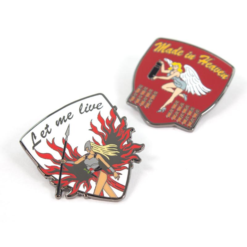 Pin Kings Resident Evil Enamel Pin Badge Set 1.3