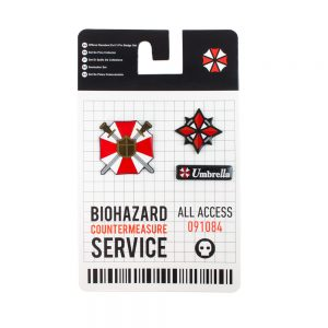 Resident Evil 3 Pin Badge Set