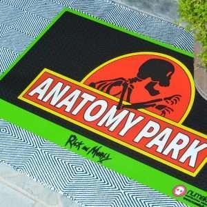 Rick and Morty Anatomy Park Door Mat / Floor Mat