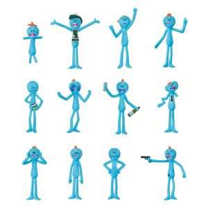Rick and Morty Mr Meeseeks Christmas Decorations / Ornaments (12 pack)