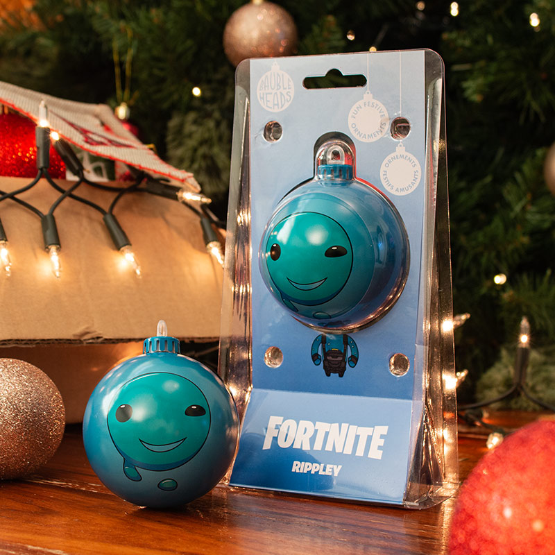 Bauble Heads Fortnite 'Rippley' Christmas Decoration / Ornament