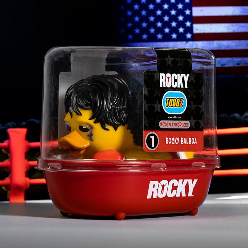 Rocky Rocky Balboa TUBBZ Cosplaying Duck Collectible