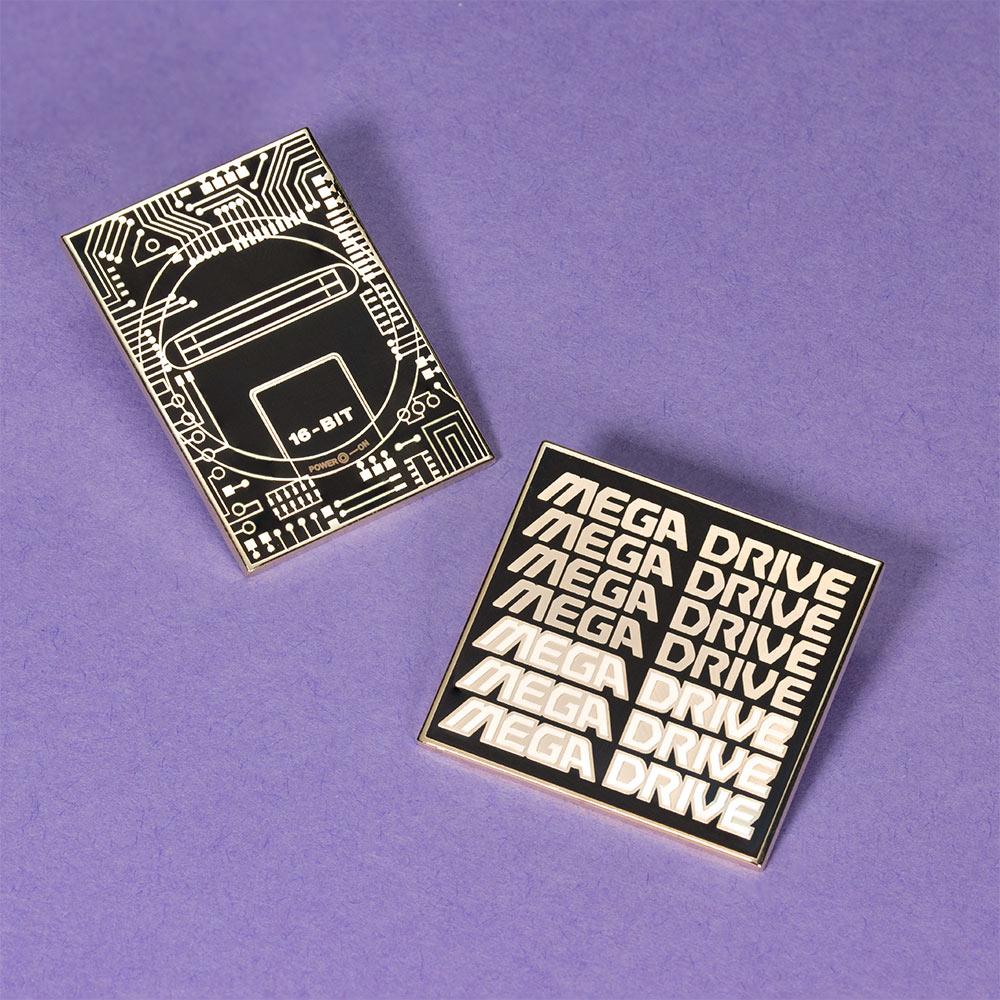 Pin Kings SEGA Mega Drive Enamel Pin Badge Set 1.2 – Retro