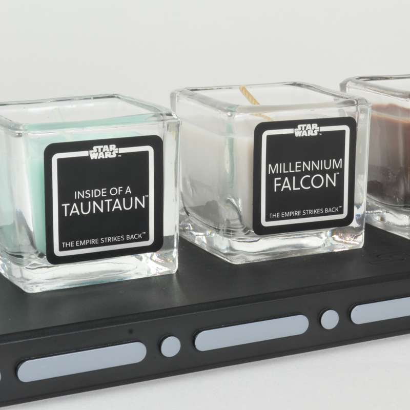 Star Wars The Empire Strikes Back Candle Set: Collectors Edition