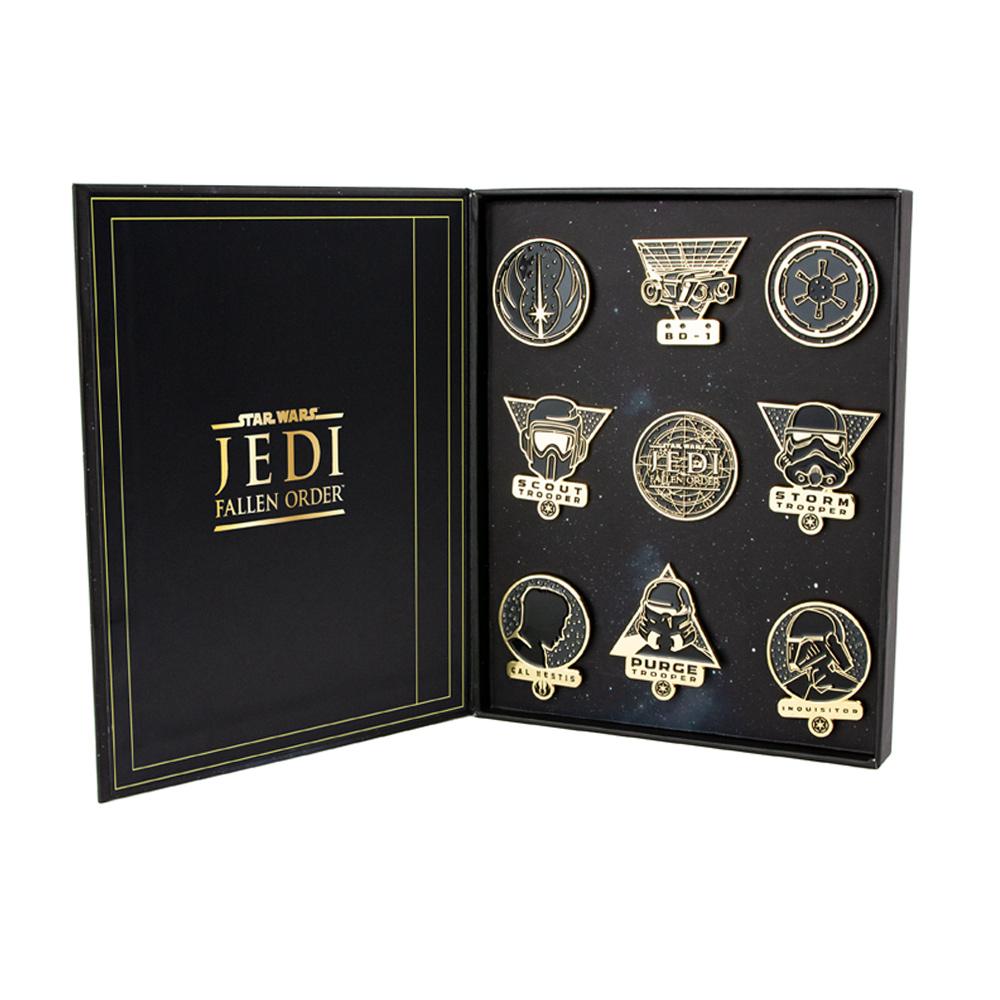 Star Wars 'Fallen Order' Premium Pin Badge Set