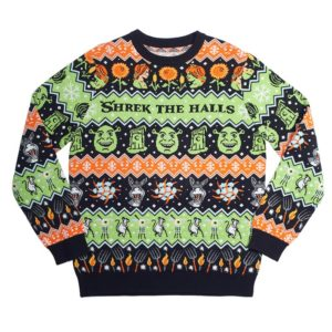 Official Shrek Christmas Jumper / Ugly Sweater