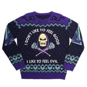 Official Skeletor Christmas Jumper / Ugly Sweater