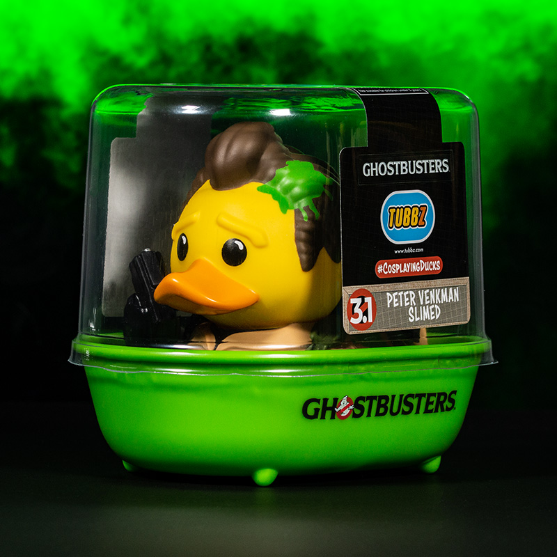 Ghostbusters Peter Venkman Slimed TUBBZ Cosplaying Duck Collectible