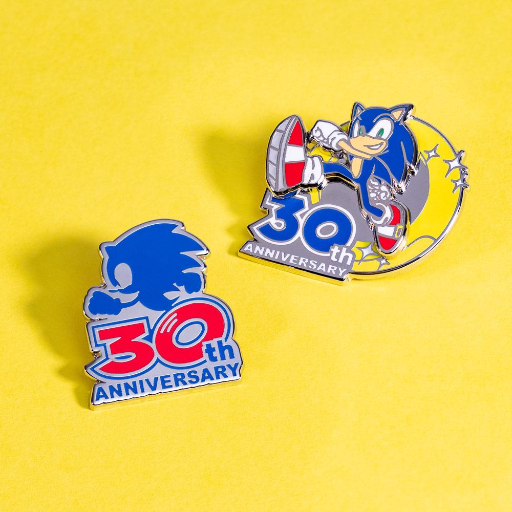 Pin Kings Sonic the Hedgehog 30th Anniversary Enamel Pin Badge Set 1.1