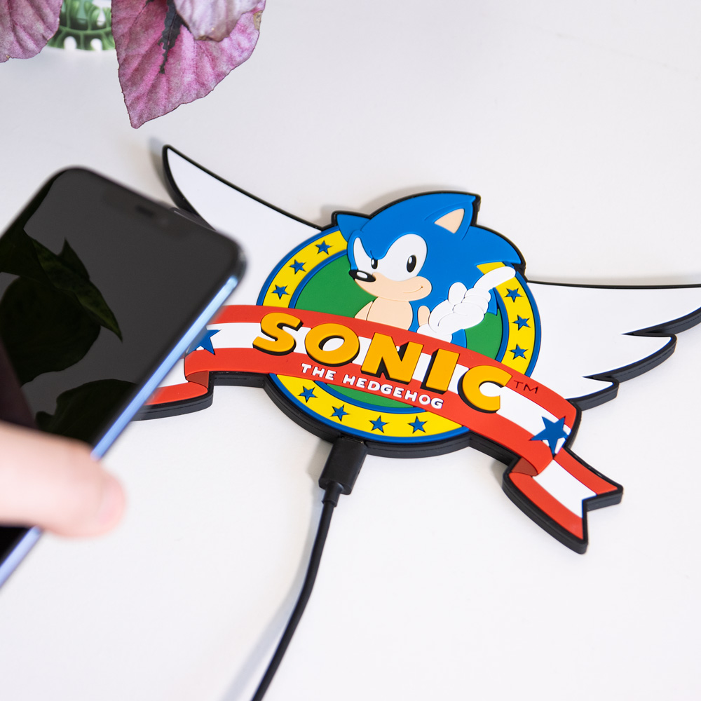 Official Sonic the Hedgehog Wireless Charging Mat