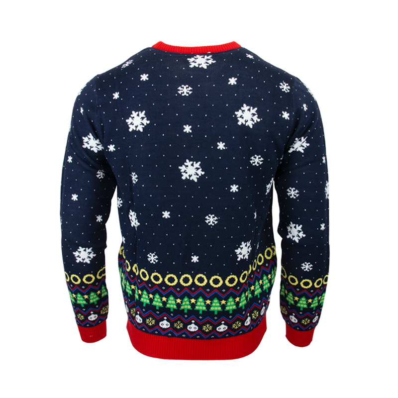 Sonic The Hedgehog Snowboarding Christmas Jumper / Ugly Sweater