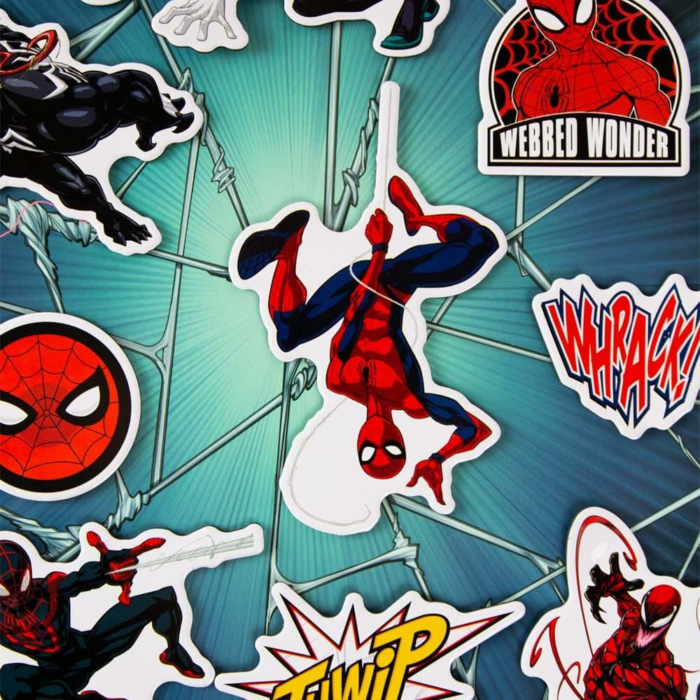 Spider-Man Fridge Magnets (Set of 12)