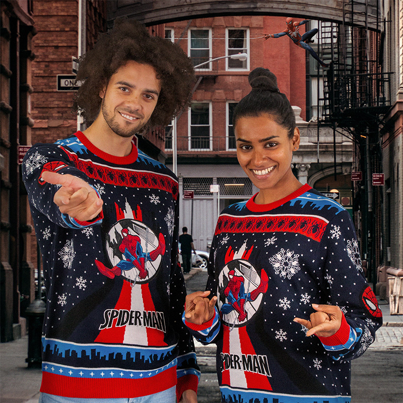 Spider-Man Christmas Jumper / Ugly Sweater
