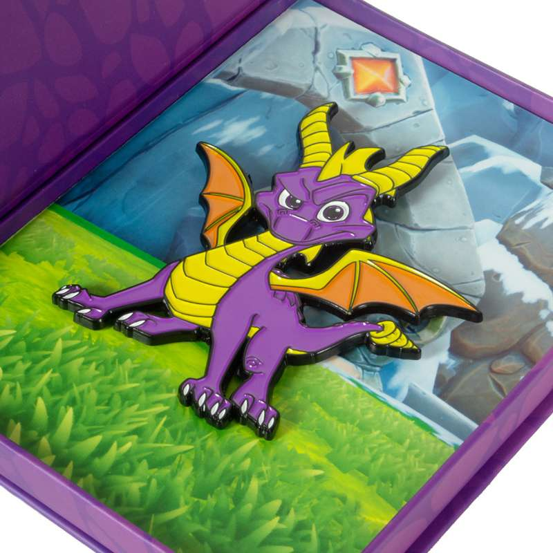 Spyro the Dragon Collectible Pin
