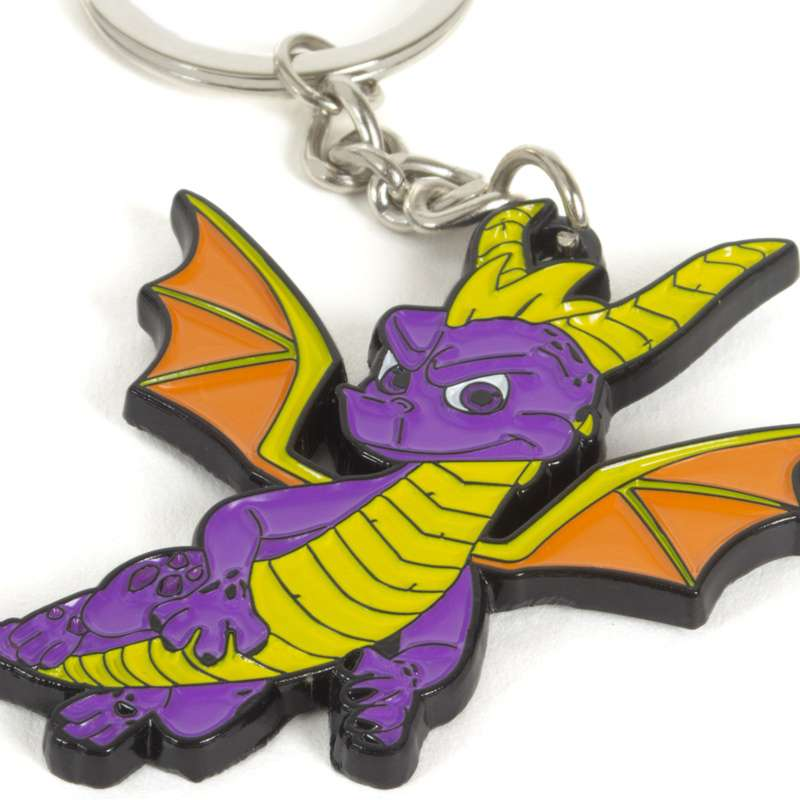 Spyro the Dragon Metal Keyring / Keychain