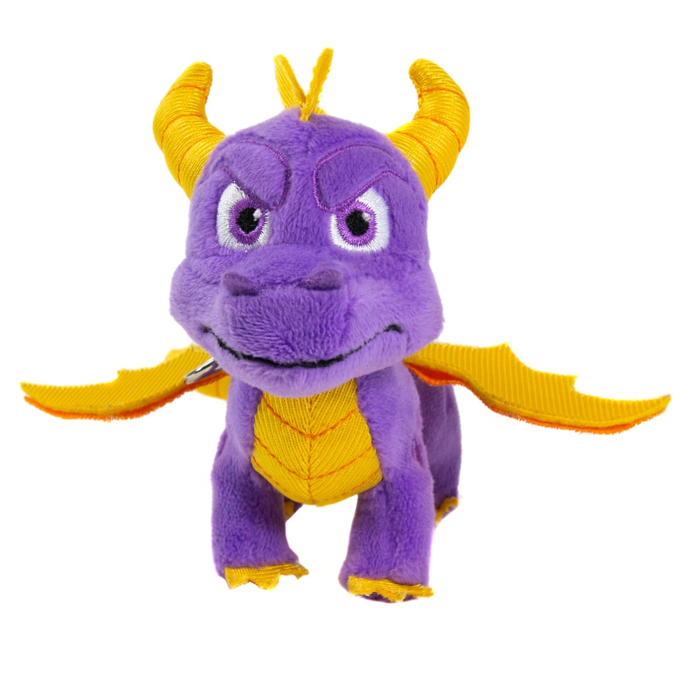 Spyro the Dragon Keyring Plushie