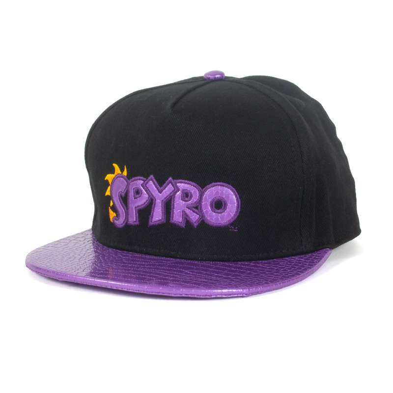 Spyro the Dragon Scaled Snapback