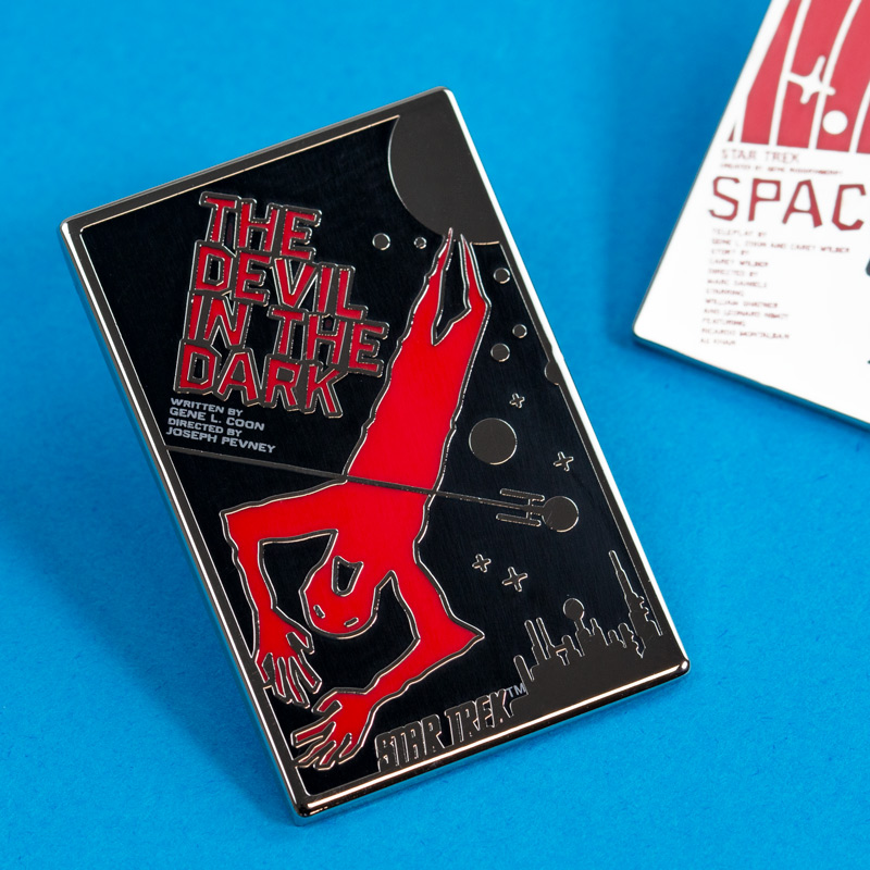 Pin Kings Star Trek Enamel Pin Badge Set 1.2 – The Devil in the Dark & Space Seed