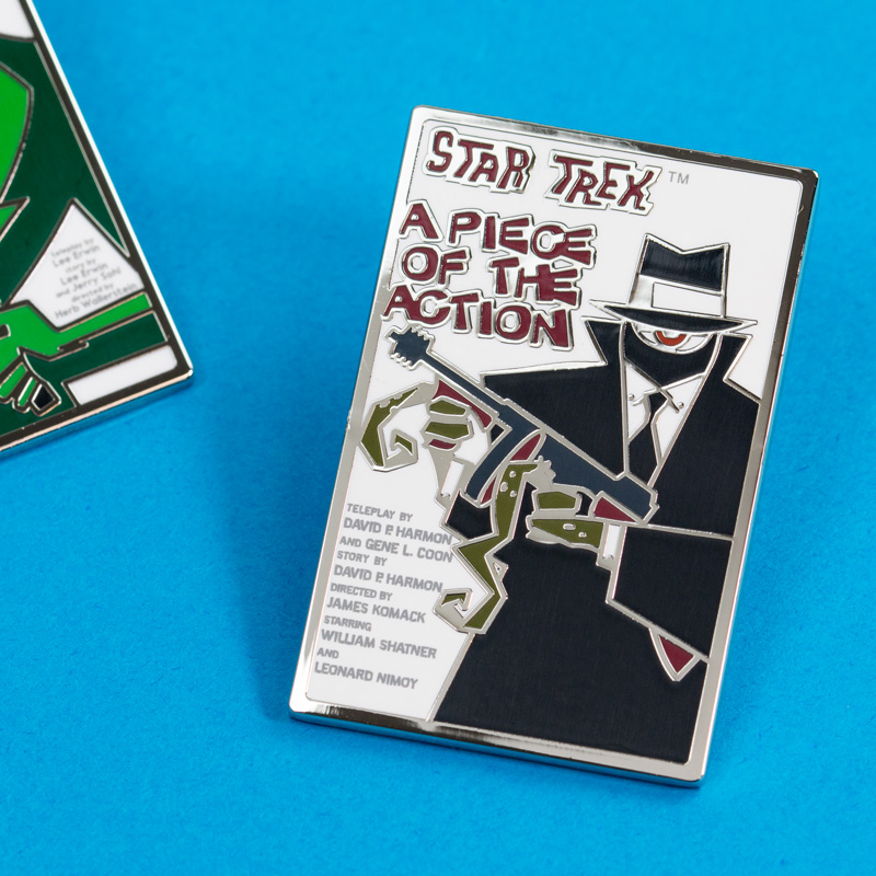 Pin Kings Star Trek Enamel Pin Badge Set 1.4 – A Piece of Action & Whom Gods Destroy
