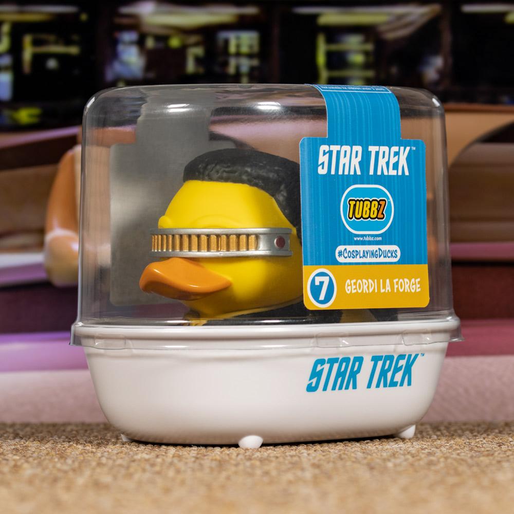 Star Trek Geordi La Forge TUBBZ Cosplaying Duck Collectible