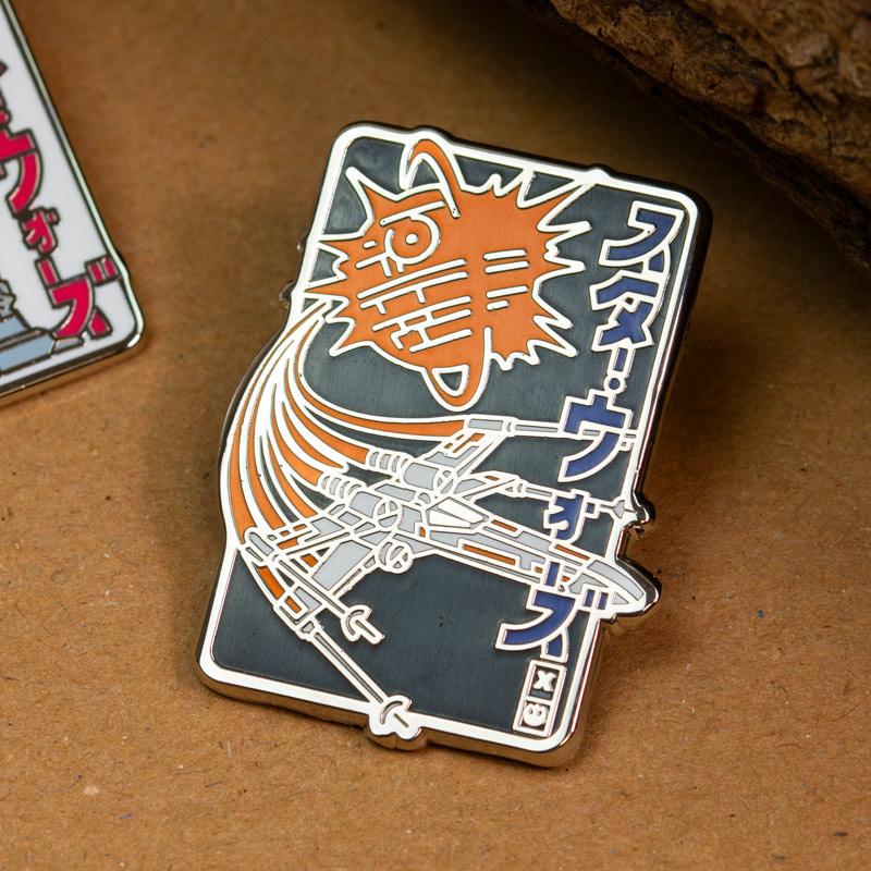 Pin Kings Star Wars Enamel Pin Badge Set 2.1 – X-Wing & AT-AT