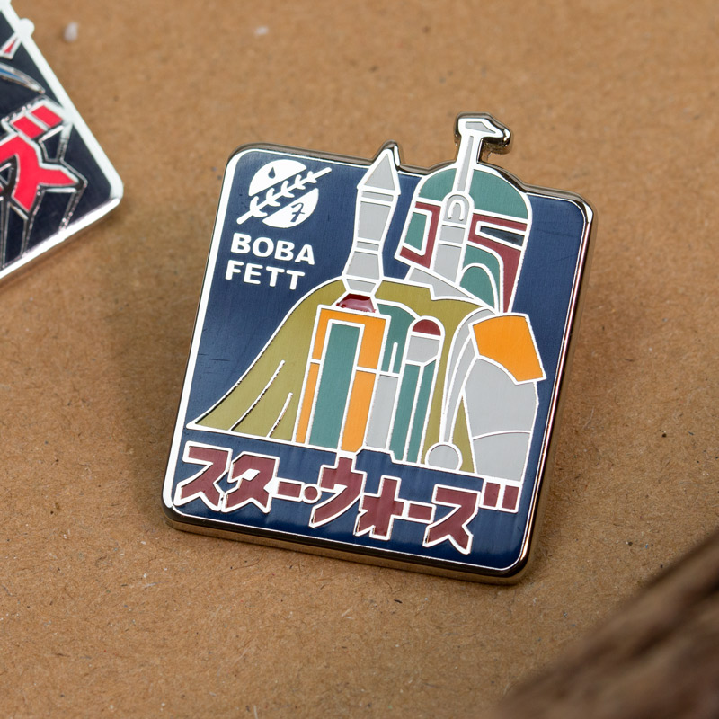 Pin Kings Star Wars Enamel Pin Badge Set 2.3 – Boba Fett & Darth Vader