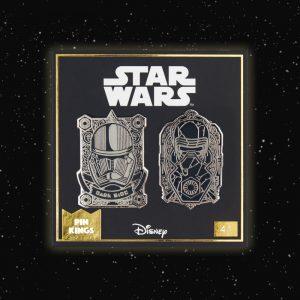 Pin Kings Star Wars Enamel Pin Badge Set 4.1 – Kylo Ren & Stormtrooper