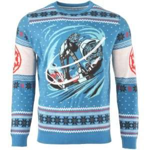 Star Wars AT-AT Battle of Hoth Christmas Jumper / Ugly Sweater
