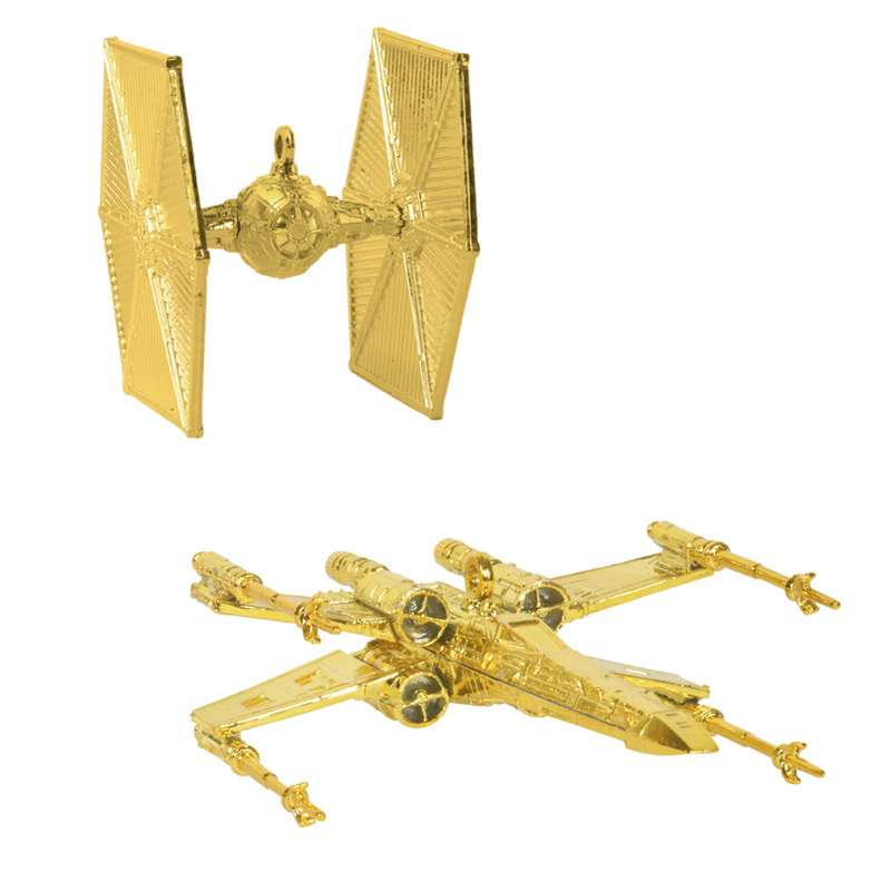 Star Wars Christmas Tree Decorations / Ornaments (Gold)