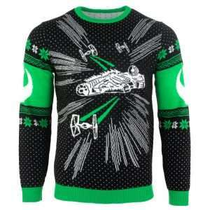 Star Wars Millennium Falcon Christmas Jumper / Ugly Sweater