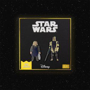 Pin Kings Star Wars Enamel Pin Badge Set 1.17 – Ugnaught and Dengar