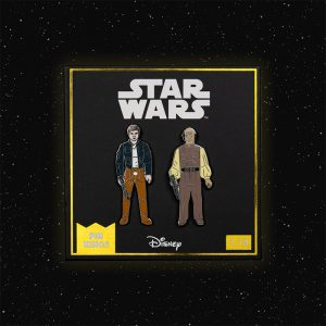 Pin Kings Star Wars Enamel Pin Badge Set 1.18 – Han Solo (Bespin Outfit) and Lobot