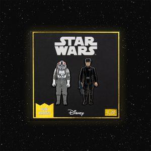 Pin Kings Star Wars Enamel Pin Badge Set 1.20 – AT-AT Driver and Imperial Commander