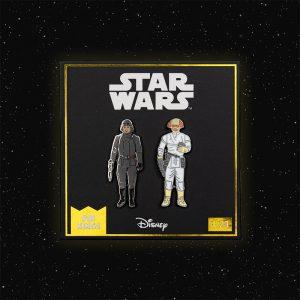 Pin Kings Star Wars Enamel Pin Badge Set 1.23 – AT-AT Commander and Cloud Car Pilot