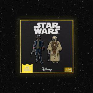 Pin Kings Star Wars Enamel Pin Badge Set 1.24 – Bespin Security Guard (Variant) and Zuckuss