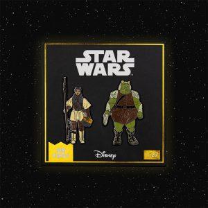 Pin Kings Star Wars Enamel Pin Badge Set 1.27 – Princess Leia Organa (Boushh Disguise) and Gamorrean Guard