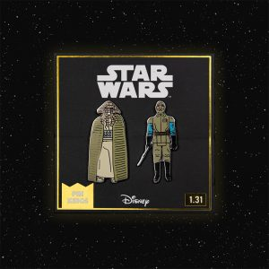 Pin Kings Star Wars Enamel Pin Badge Set 1.31 – Squid Head and General Madine