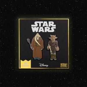Pin Kings Star Wars Enamel Pin Badge Set 1.32 – Bib Fortuna and Ree-Yees