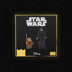 Pin Kings Star Wars Enamel Pin Badge Set 1.36 – Wicket W. Warrick and The Emperor
