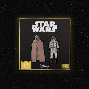 Pin Kings Star Wars Enamel Pin Badge Set 1.39 – Prune Face and AT-ST Driver
