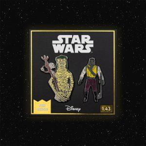 Pin Kings Star Wars Enamel Pin Badge Set 1.43 – Amanaman and Barada